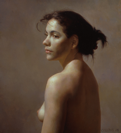 Carolina, Oil on Canvas, 22 x 20 inches, 2006