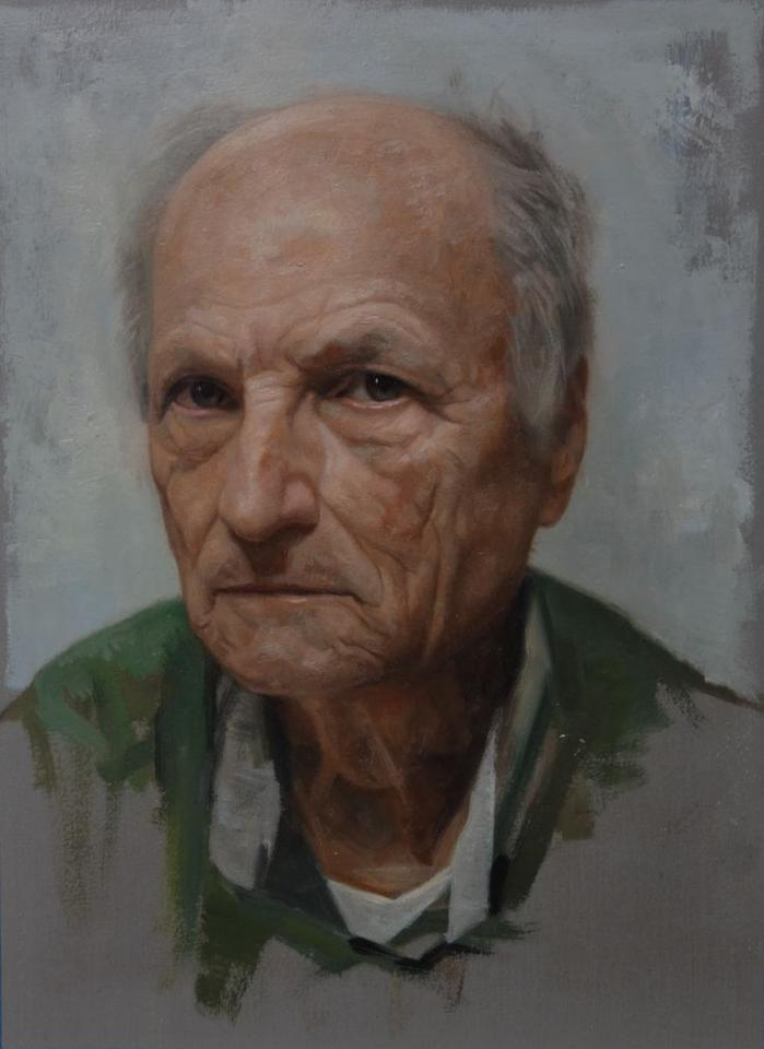 "David Kassan, ""Antonio Lopez Life Study"" 16 x 14"