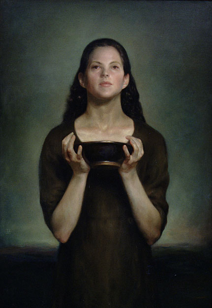 "Juliette Aristides ""The Bowl"", oil on linen"