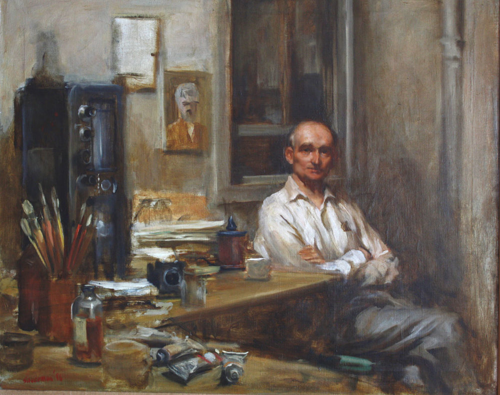 Portrait of Emil Goldfus 1957