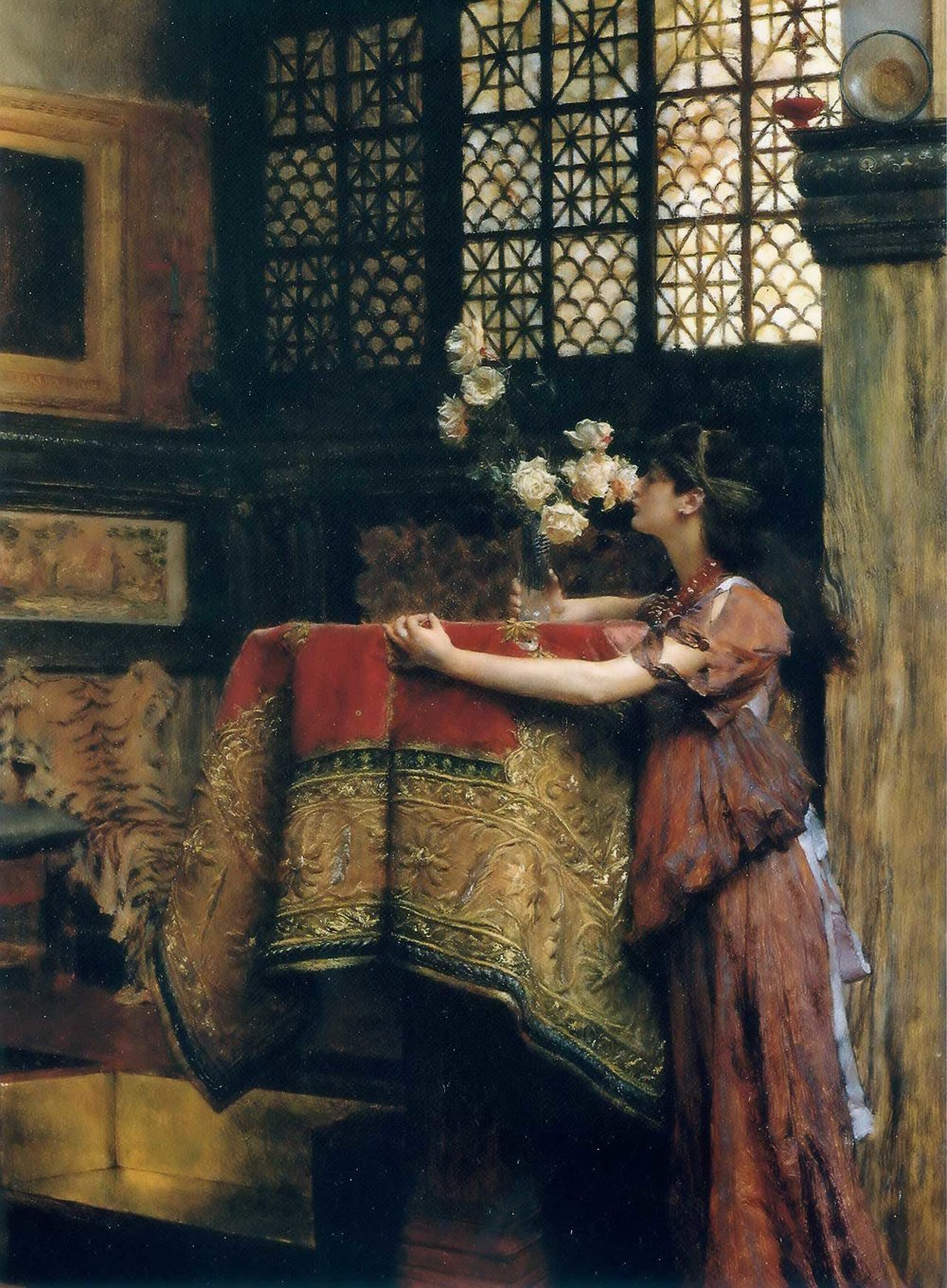 Lawrence Alma-Tadema : In My Studio