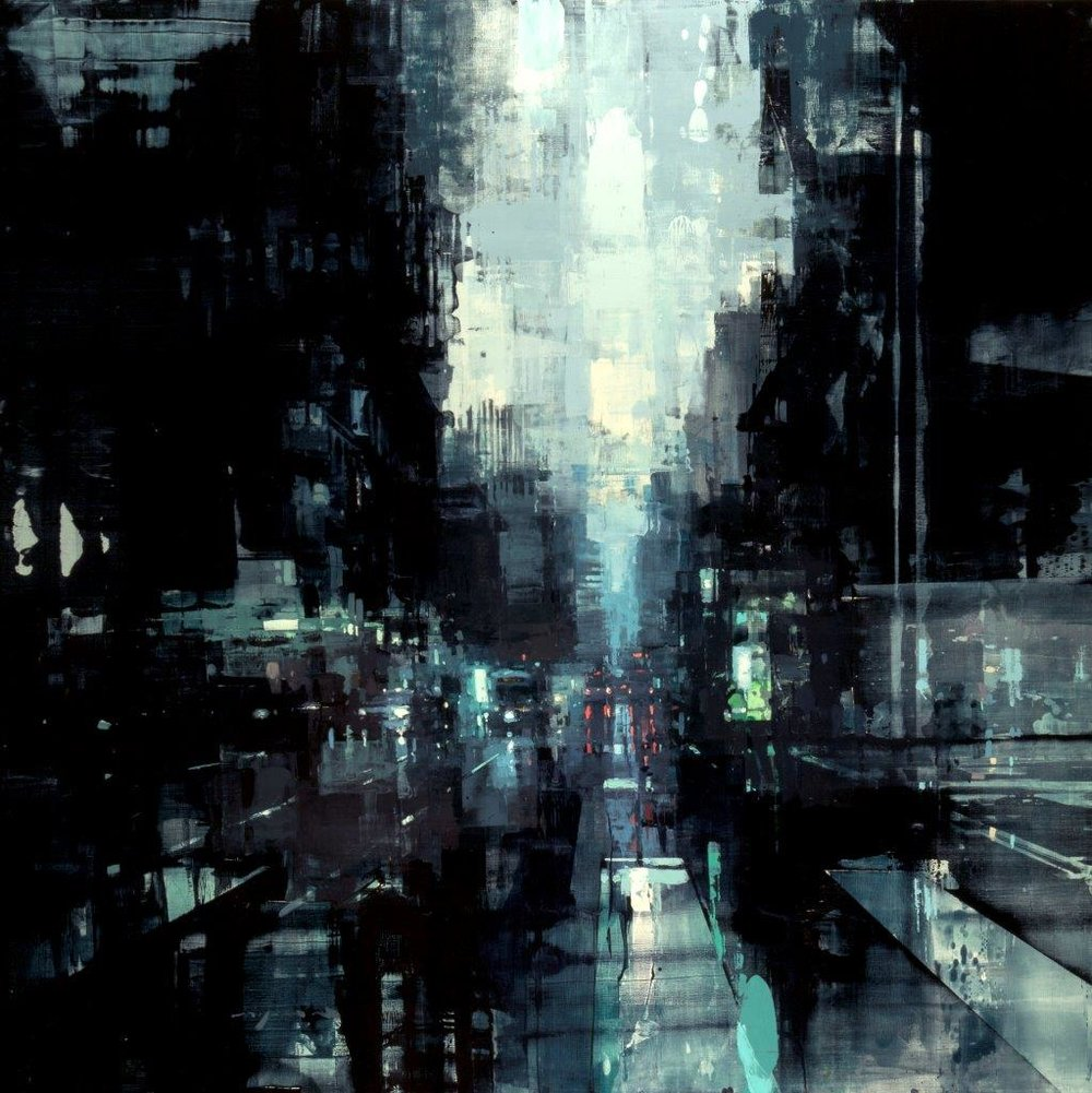 SF11 - 48 X 48 Inches - Oil On Panel