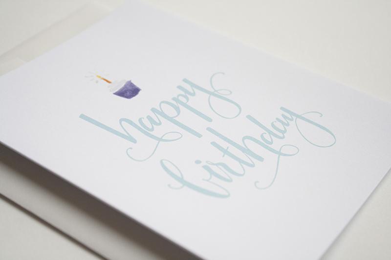 Calligraphy happy birthday u porchlight press ltd