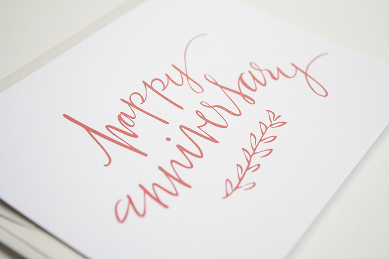 Happy anniversary card u leen jean studios