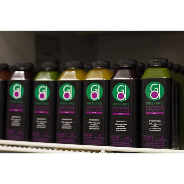 Need a juice? We've got a stocked fridge so place your orders at gosmoothies.com today!