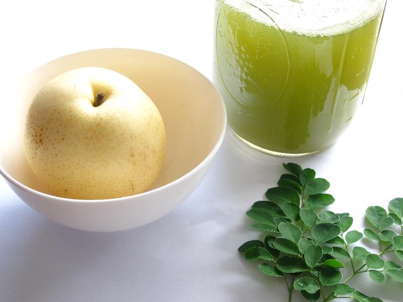 Moringa paired with Pears