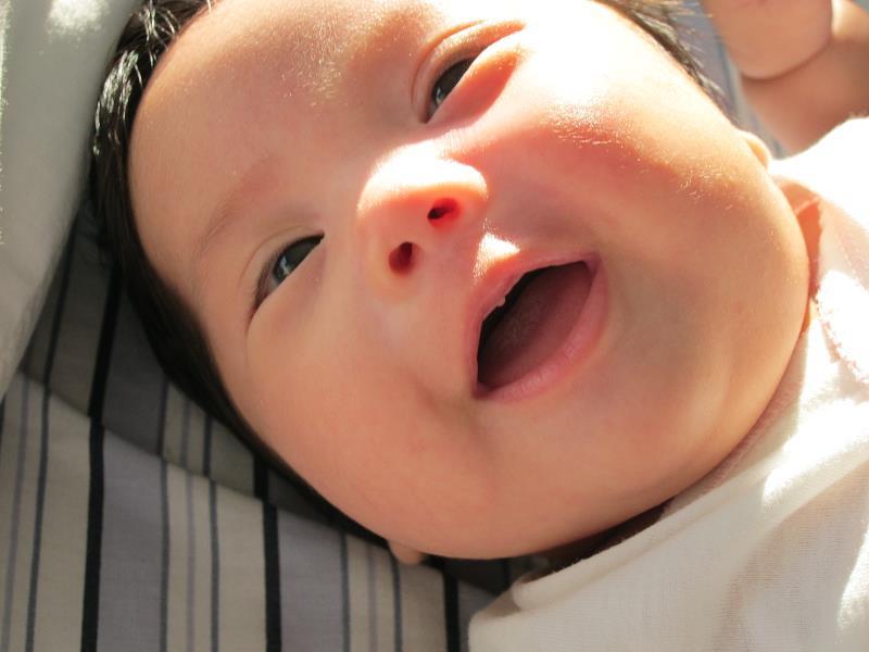 Moringana Breastfed Baby