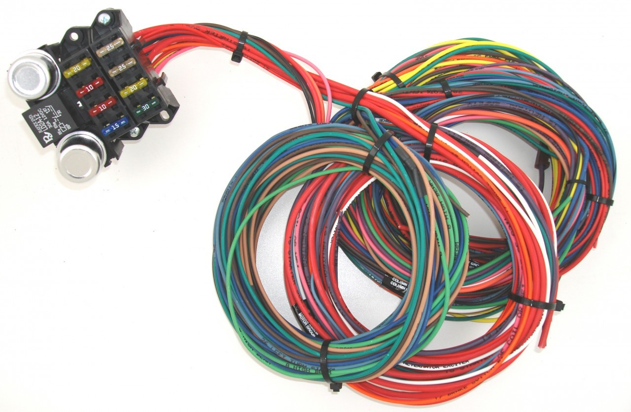 8 circuit budget wire harness — tbc race cars