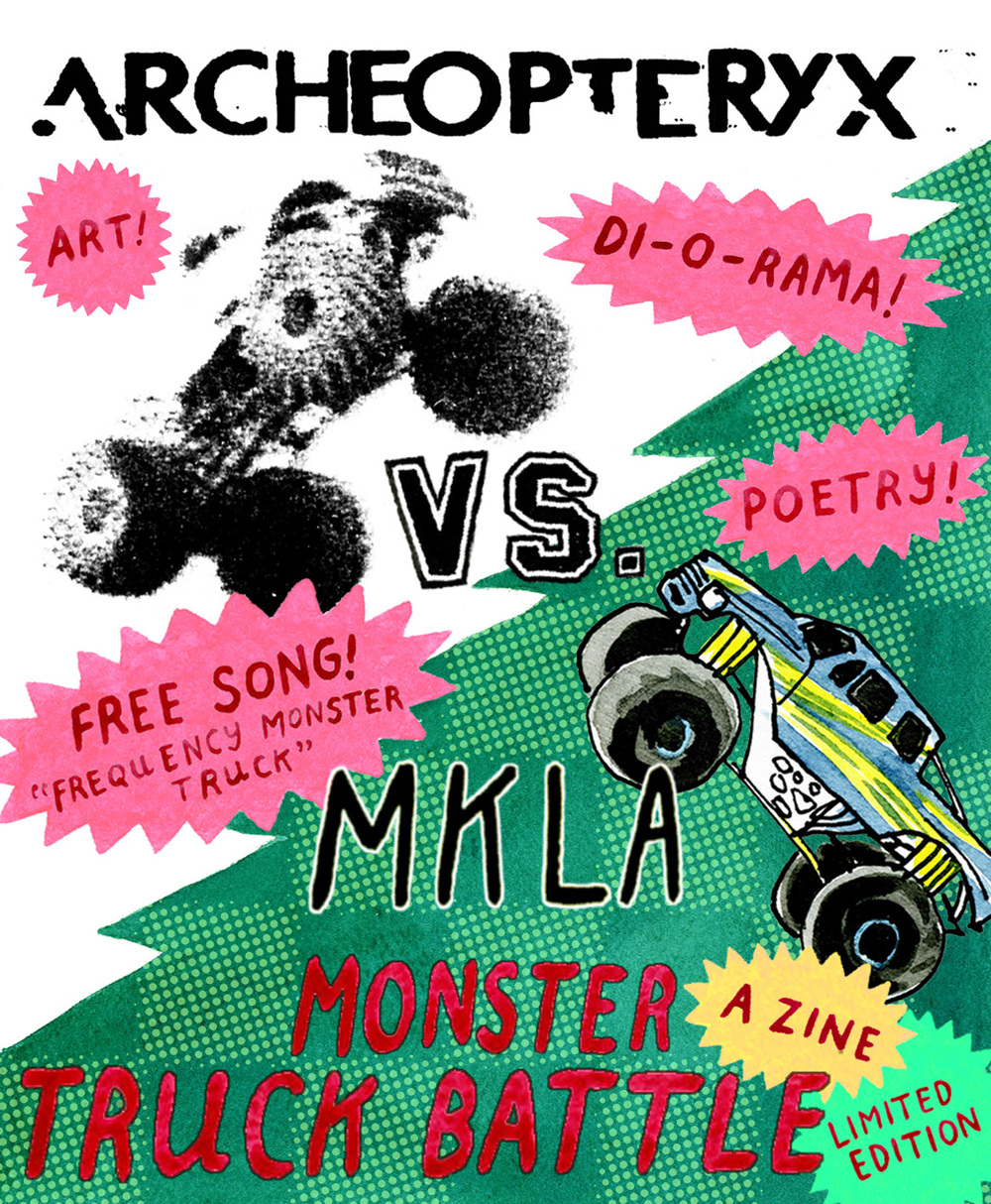 Archeopteryx vs. MKLA: Monster Truck Battle Zine