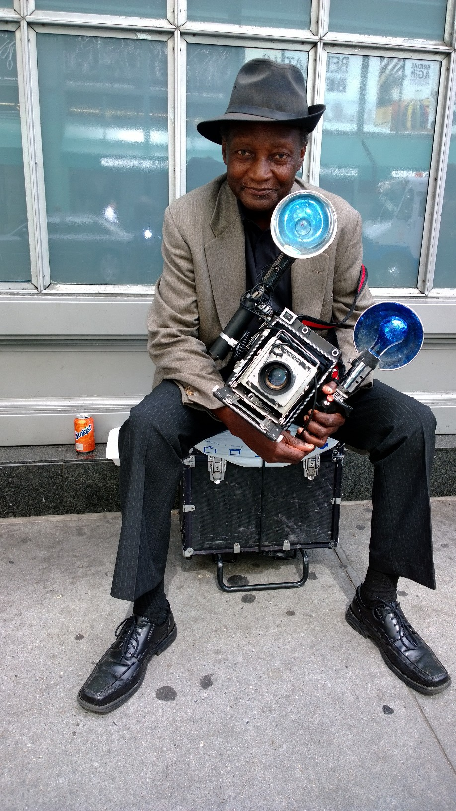 Street Photographer, New York City, 2013     Copyright Jim Cummins