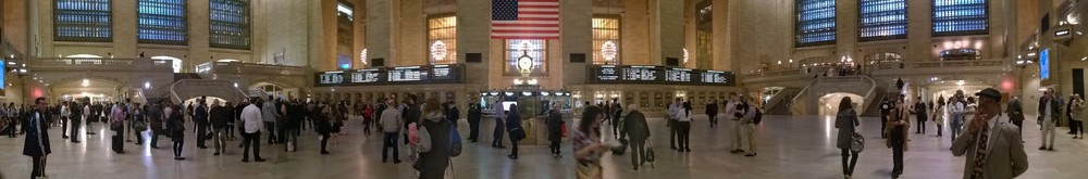 Grand Central Station, 2014     Copyright Jim Cummins