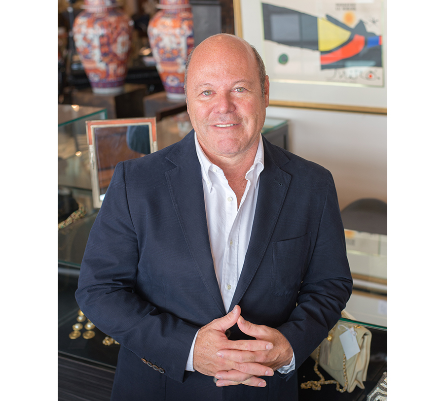 Andrew Morris-Owner of Stewart Antiques