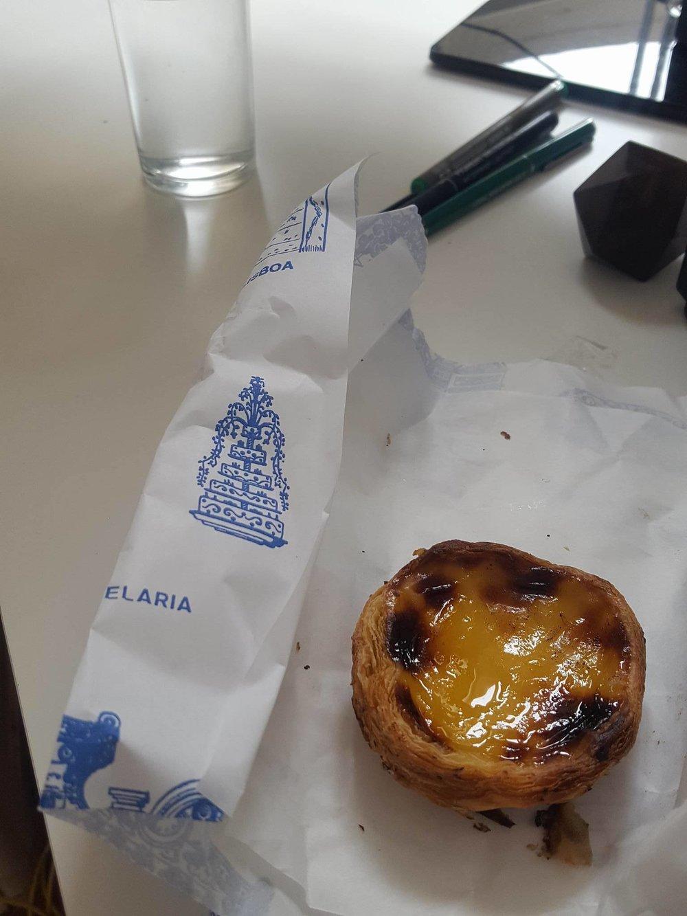 Portugese custard tarts