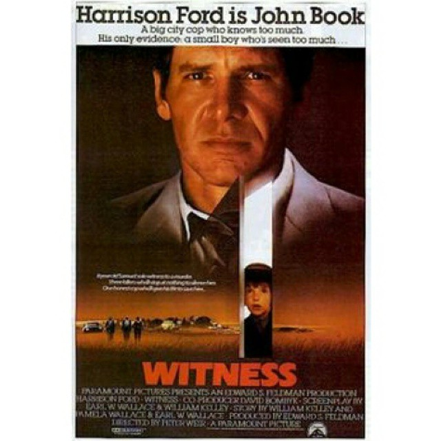 Looking again - Witness #movieposter  #copfilm #others