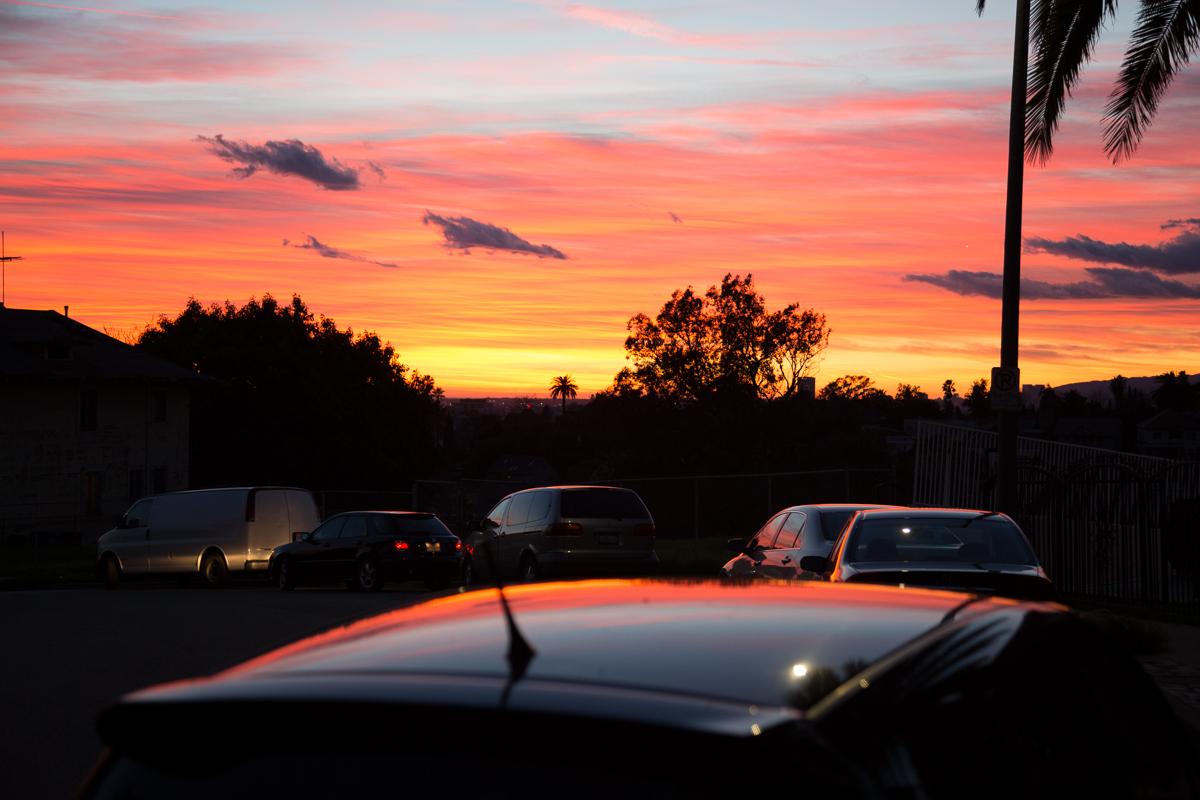 Sunset on Sunset on Sunset, LA CA, 2013