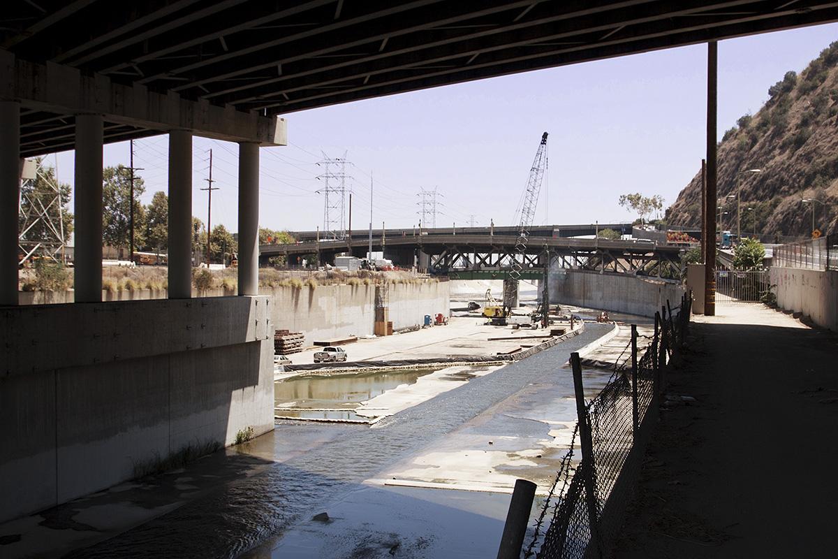 Below the 5, LA   map -  wiki