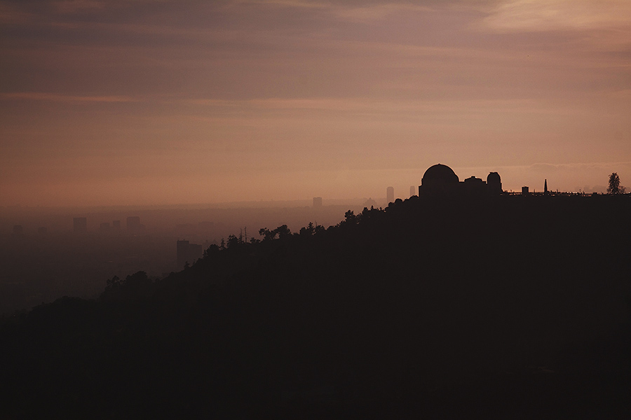 day for dusk - Griffith Observatory, LA
