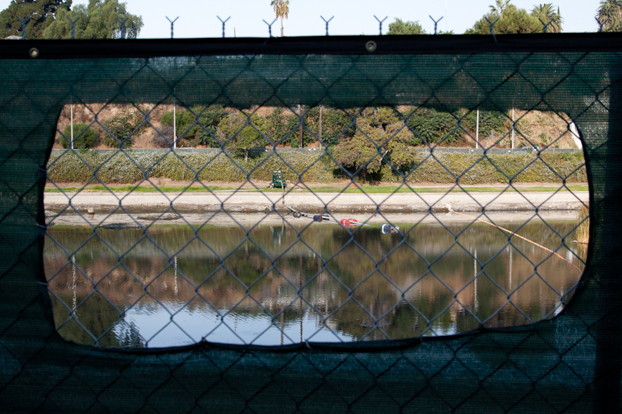 Echo Park Lake, Draining