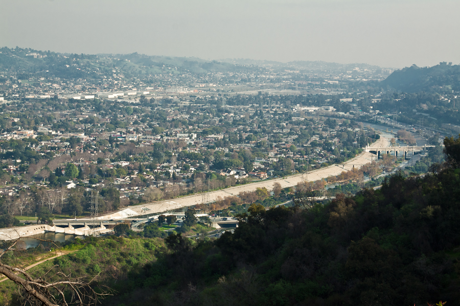 The LA river, Atwater Village