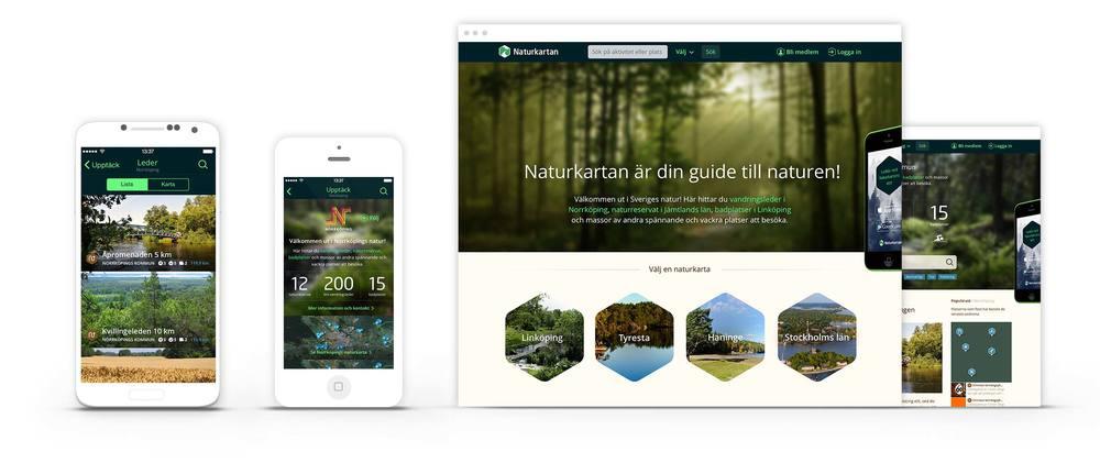 Ny design lanseras under våren 2014 för Android, iOS och för webbsajten