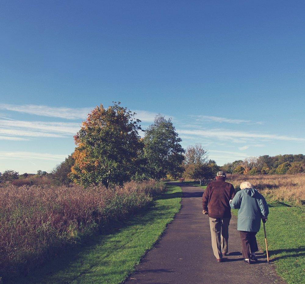 Läkarna ordinerar sina patienter att ta sig ut i naturen för att promenera och bara njuta.