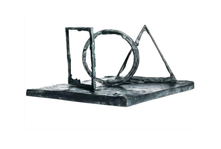 Trophée de l'Equerre d'argent, sculpté par Bruno Romeda
