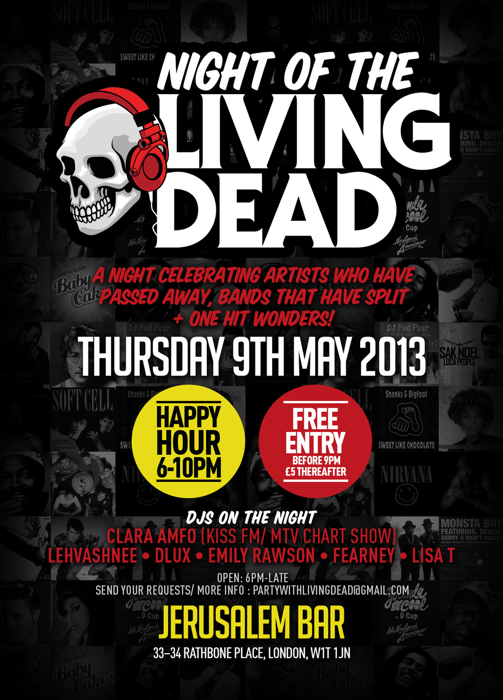 Night of the Living Dead Launch Party