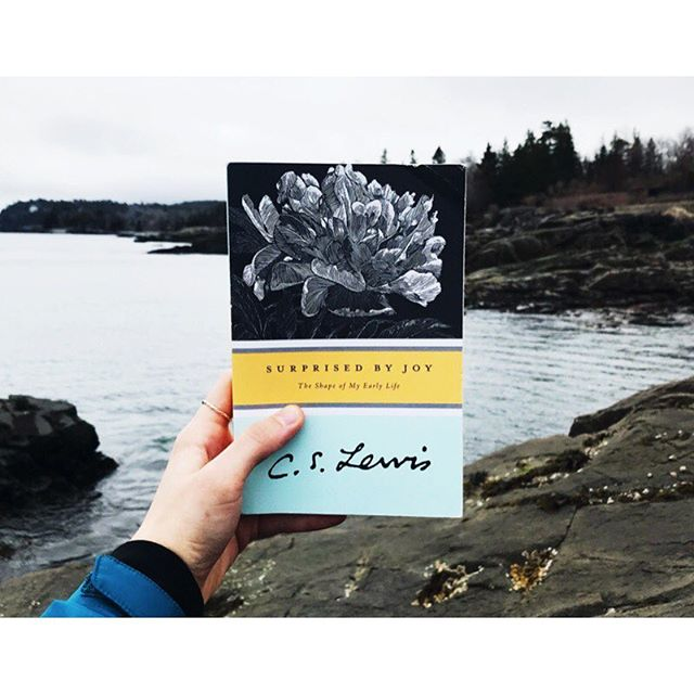 I honestly can't imagine a better place to be reading such a calming and imaginative memoir. If only it wasn't so doggone windy. #cslewis #joy #currentlyreading #mainelyjustlobstah