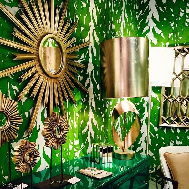 Carole Hollowell Interiors Green Room