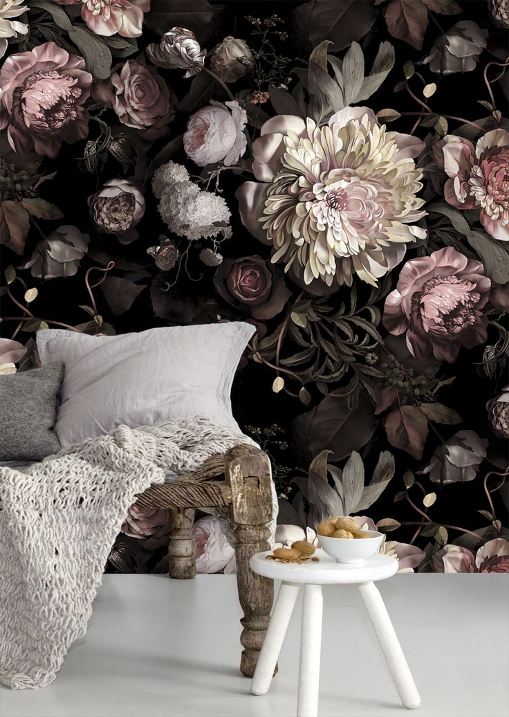 New dark floral wallpaper by Ellie Cashman.jpg