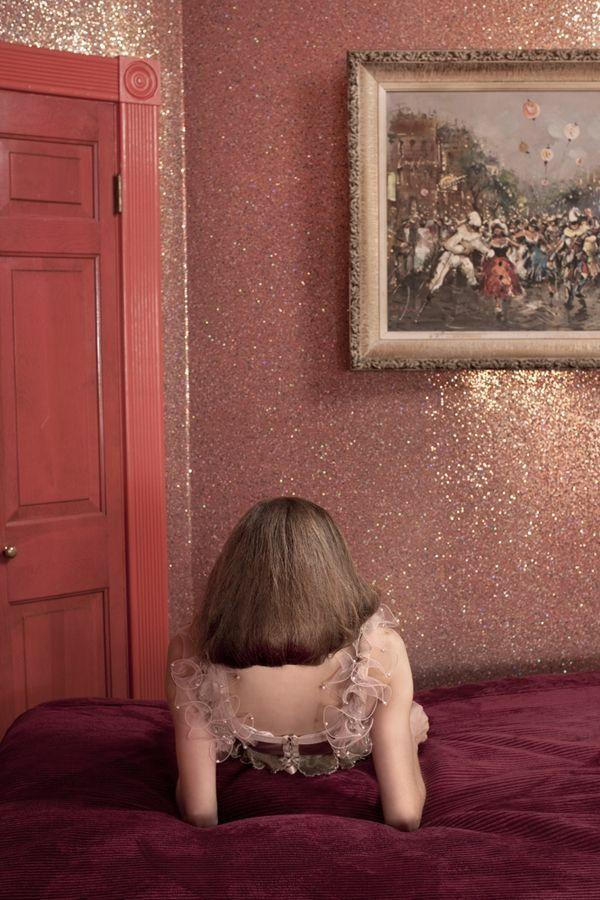 Motifpaillettesà l'hôtel Zimmer -Glitter at the Hotel Zimmer