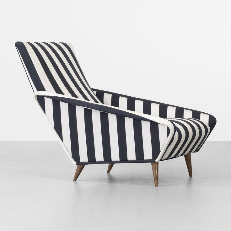 Silk and Walnut Loungechair