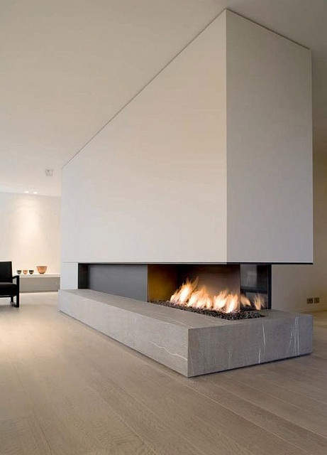 Metalfire architectural fireplaces - Belgium