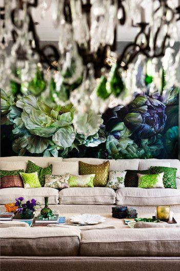 Australian Artist Marcella Kaspar's Sydney home as featured by Marie Claire Austraila