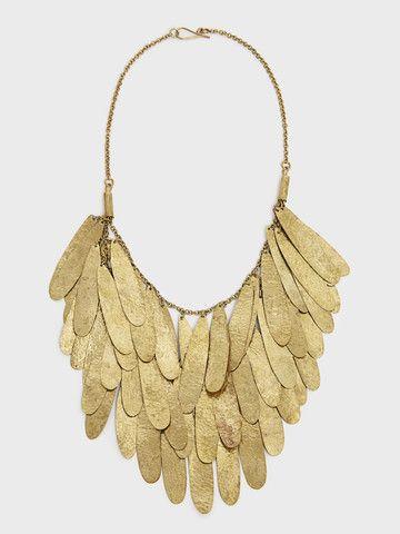 Nama Teardrop Fringe Necklace by Raven + Lily  DARA Artisans