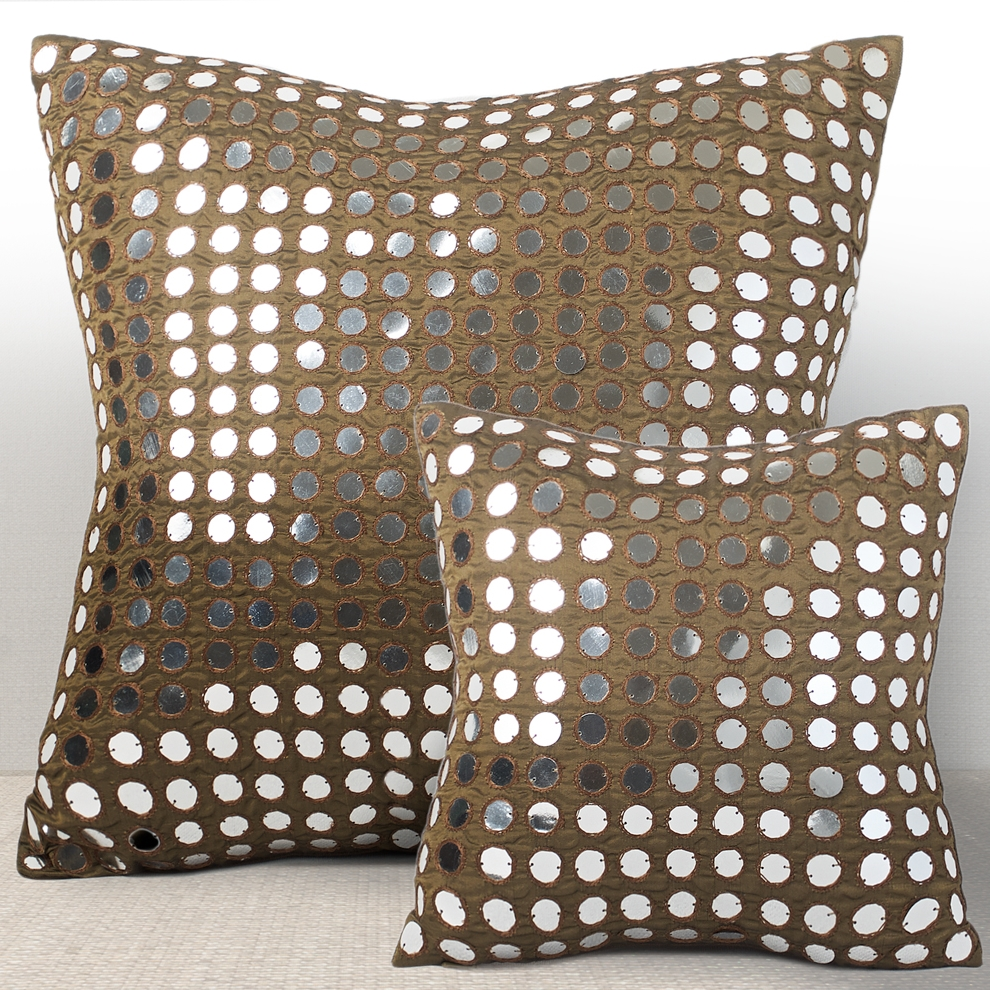 'Empire' decorative pillow by Chauran + SORS Paris