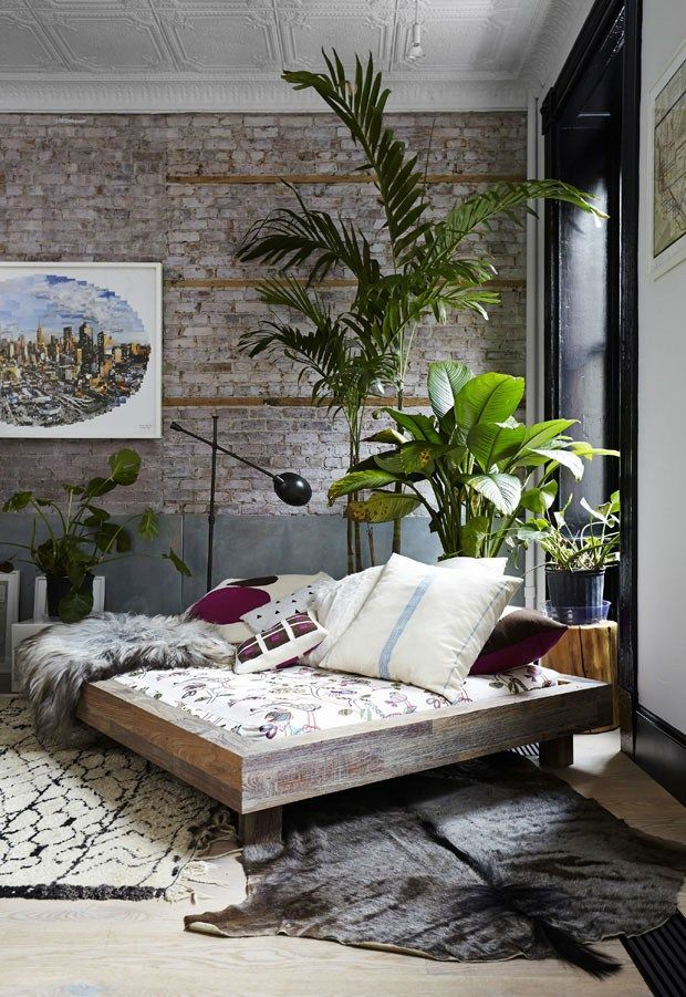 Tribeca loft living room