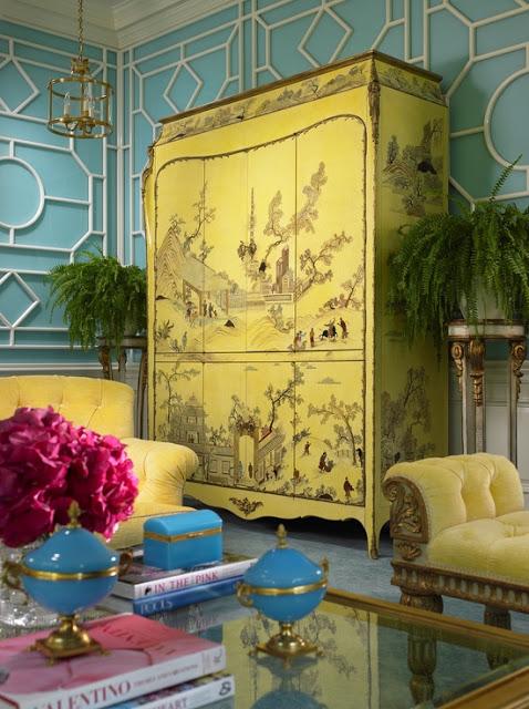Designer Scott Snyder Palm Beach Chic Chinoiserie