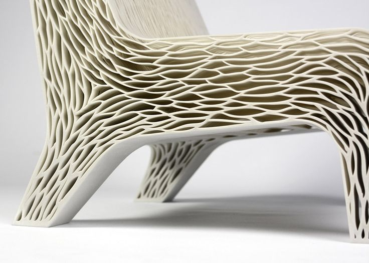 Van Daal's Biomimicry 3D-printed soft seat