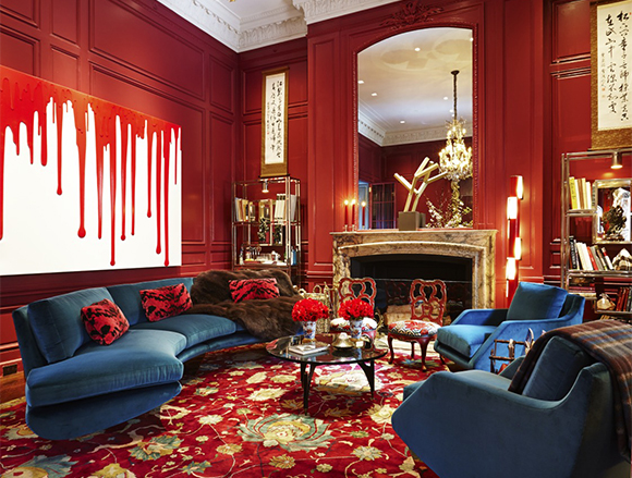At the 2014 Kips Bay Decorator Show House in New York City, William T. Georgis photo by Timothy Bell