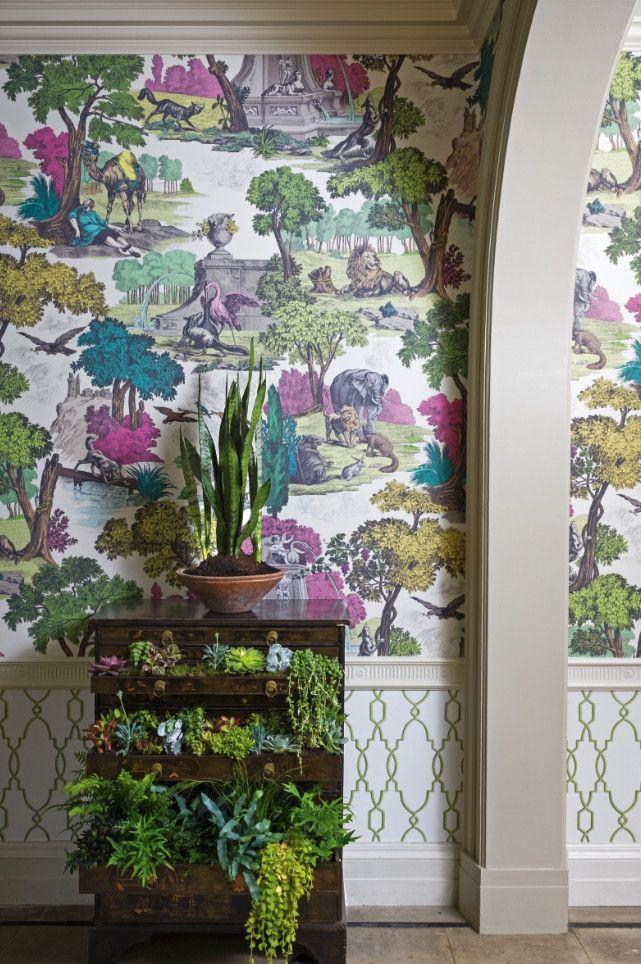 10 tendances du papier peint qui apportent style l gance et luxe n 39 importe quelle pi ce sors - Penthouse ac du square one studio ...