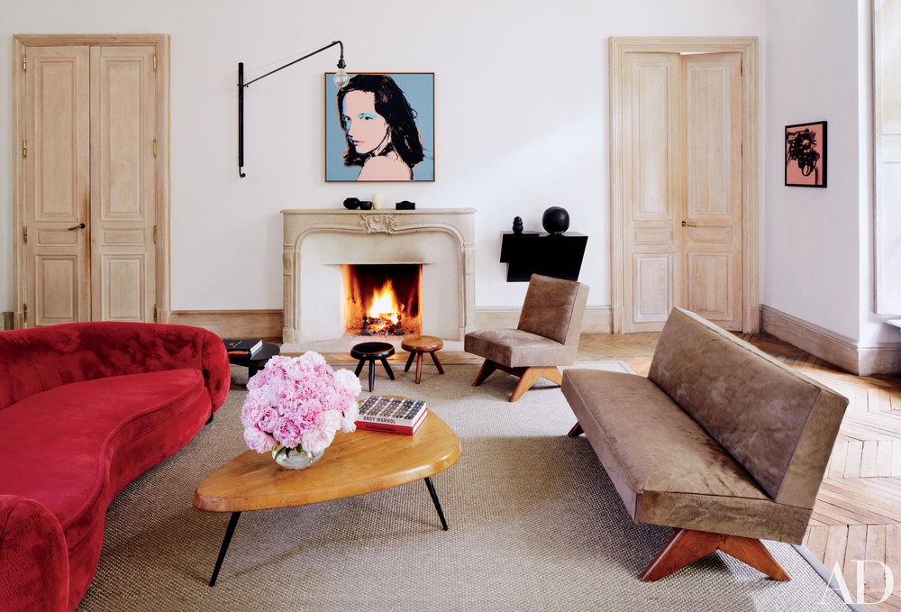 Parisian living room//Salon parisienne