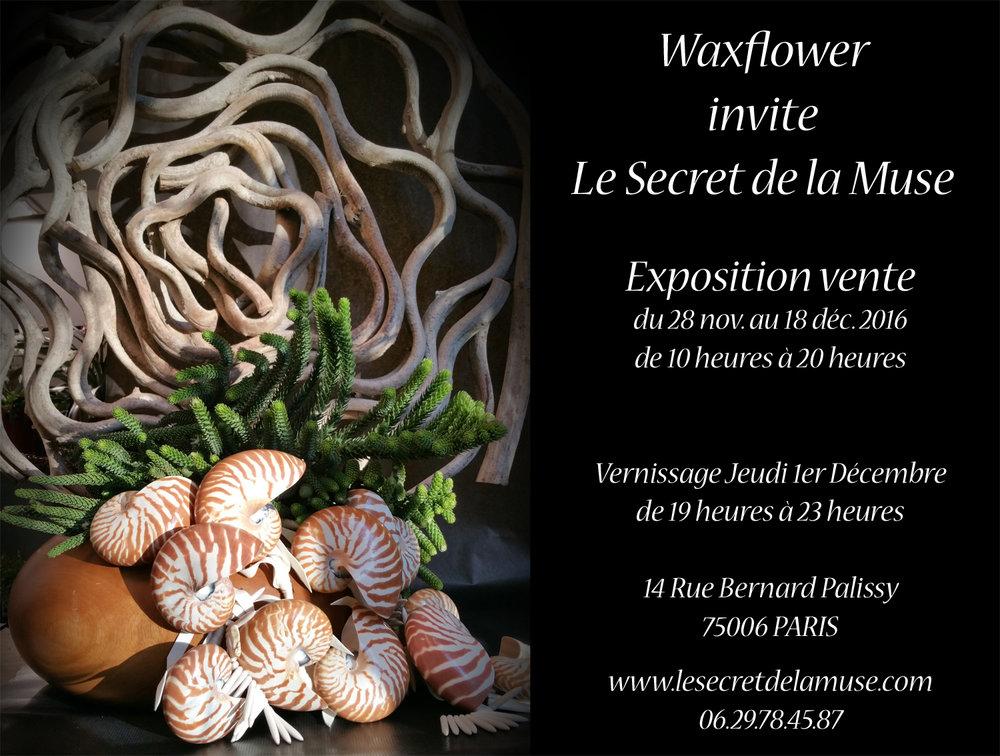 Waxmuse Invitation