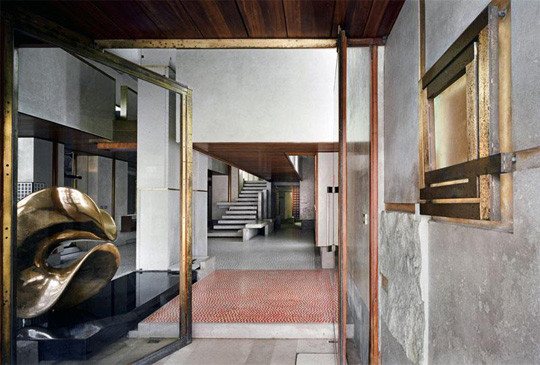 Olivetti Showroom designed by Carlo Scarpa in Venice
