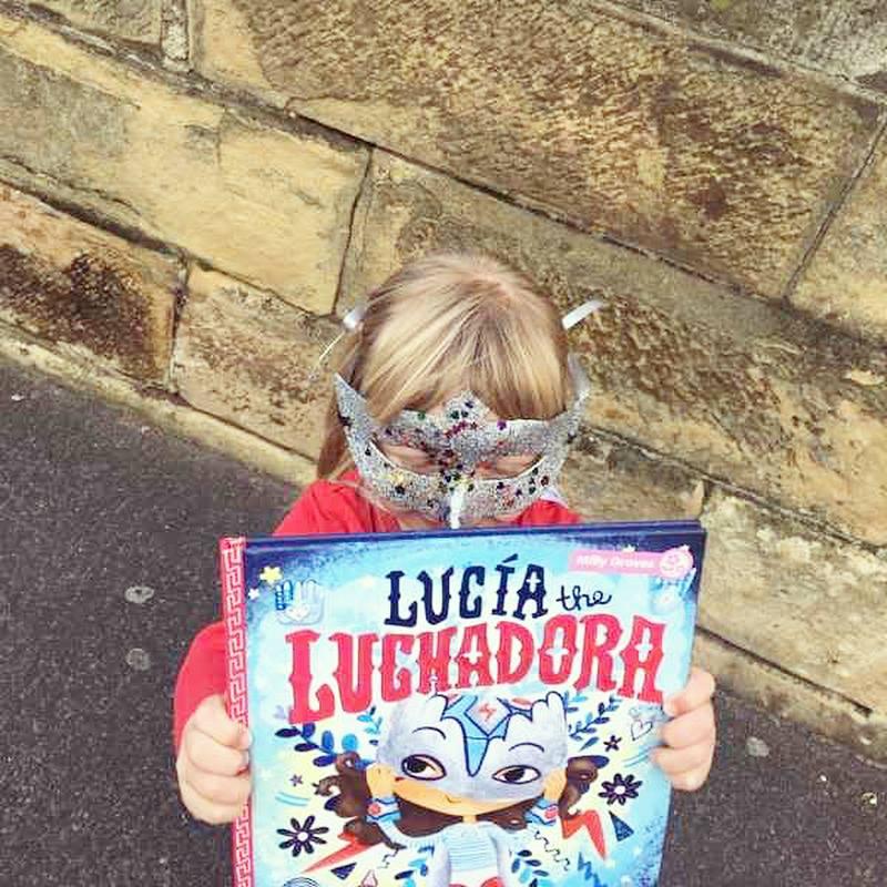 Children as Lucia for Australian Book Week 2017