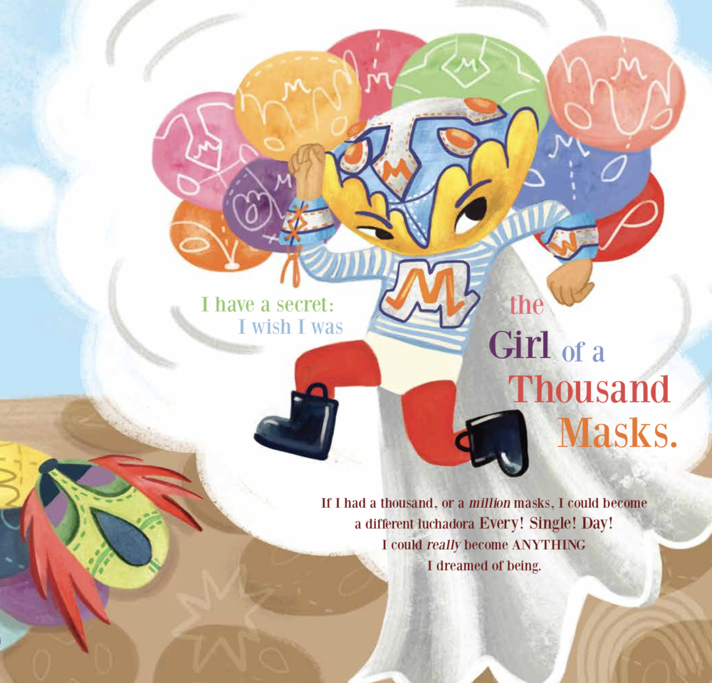 lucia the girl of a million masks