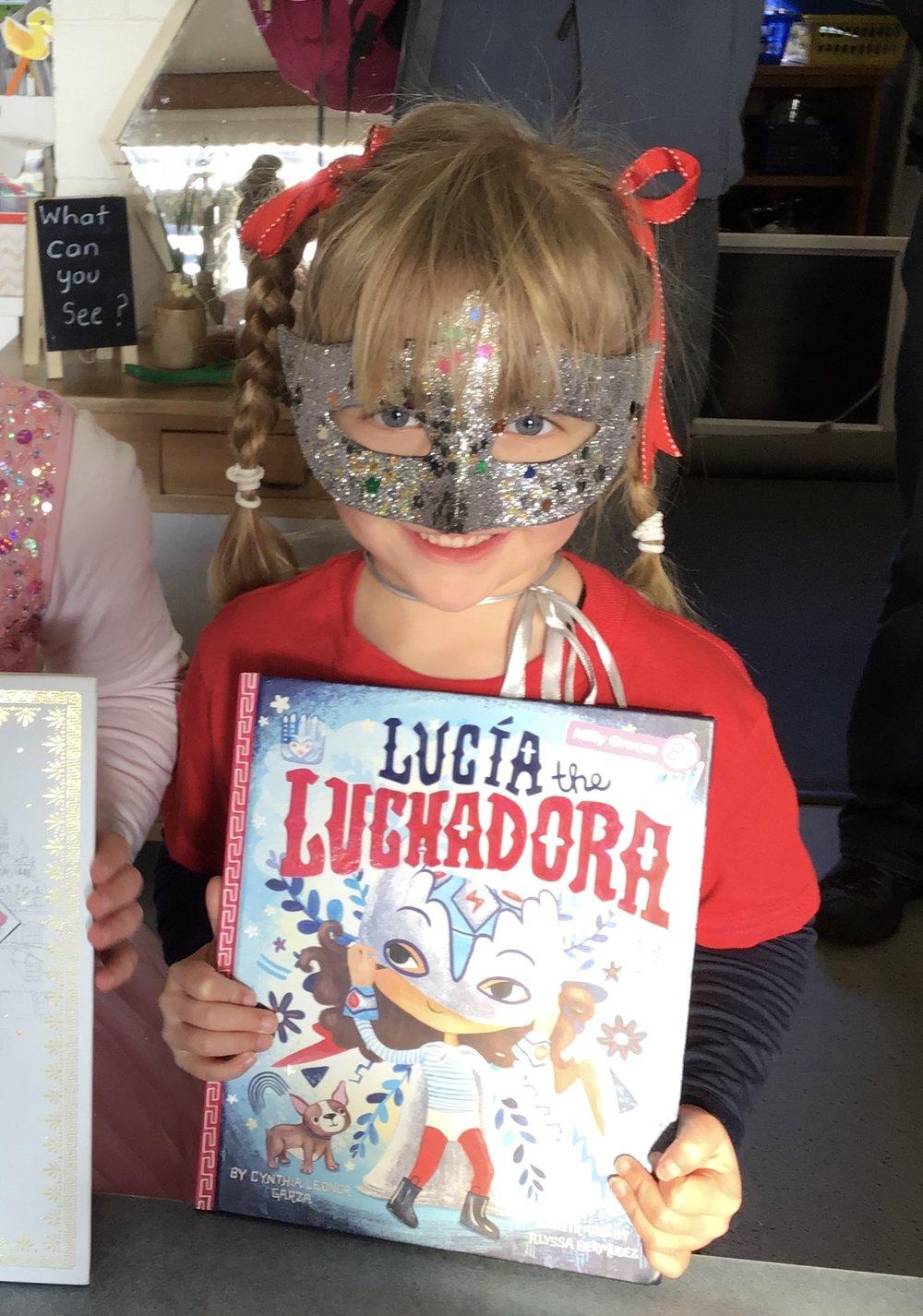 lucia the luchadora book week 2018
