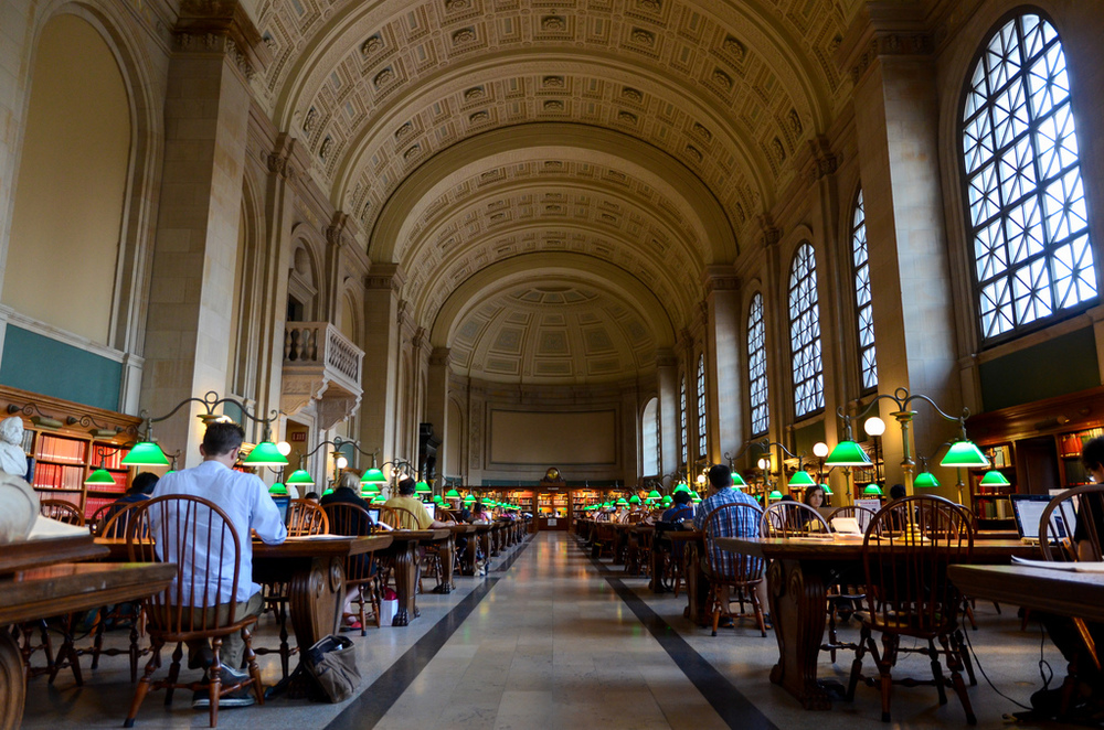Boston Public Library, by Zolk