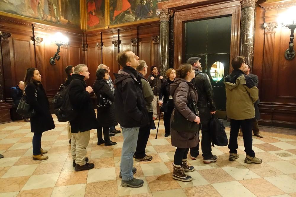 Boston Public Library Tour (March 2015)