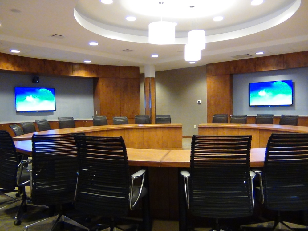 AV in board room, CMA